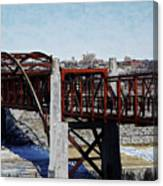 At Three Bridges Park Canvas Print