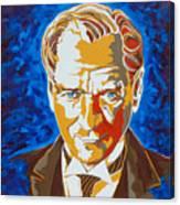 Ataturk Canvas Print