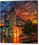 Atchison Post Office  Canvas Print