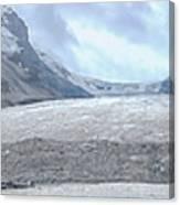 Athabasca Glacier, Jasper National Park Canvas Print