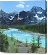 Athabasca River Canvas Print