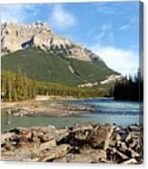 Athabasca River Canvas Print