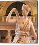 Athena Statue Canvas Print