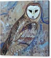 Athenas Companion Canvas Print