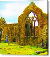 Athenry Ruin Canvas Print
