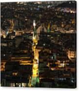 Athens True Colors Canvas Print