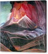 Atl: Volcano, 1943 Canvas Print