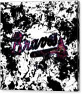 Atlanta Braves 1b Canvas Print
