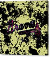 Atlanta Braves 1c Canvas Print