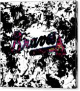 Atlanta Braves 1d Canvas Print