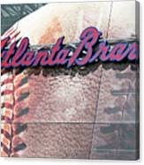 Atlanta Braves Canvas Print