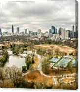 Atlanta Georgia City Skyline Canvas Print