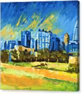 Atlanta Georgia Skyline 15 Canvas Print