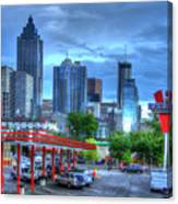 Atlanta Landmark The Varsity Art Canvas Print