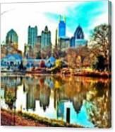 Atlanta The Great Canvas Print