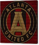 Atlanta United Barn Door Canvas Print