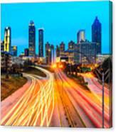 Atlanta - Usa Canvas Print