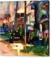 Atlantic Ave Along The Ocean Canvas Print