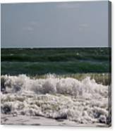 Atlantic - Beach - Waves Canvas Print