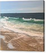 Atlantic Beach Waves Canvas Print