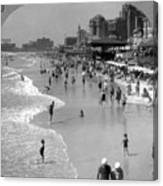 Atlantic City, 1920s Canvas Print