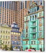 Atlantic City Boardwalk Canvas Print