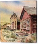 Atlantic City Ghost Town Wyoming Canvas Print