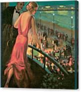 Atlantic City Pennsylvania Railroad Canvas Print