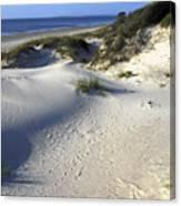 Atlantic Ocean Sand Dunes Canvas Print