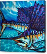 Atlantic Sailfish Canvas Print