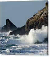 Atlantic Splash Canvas Print