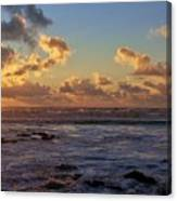 Atlantic Sunset Canvas Print