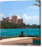 Atlantis Across The Harbor Canvas Print