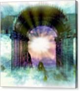 Atlantis Welcomes You Canvas Print