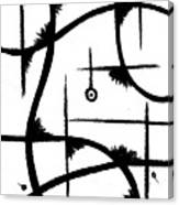 Atom Life Canvas Print