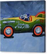Atom Racer  Canvas Print
