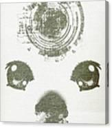 Atomic Dog's Eyes Canvas Print