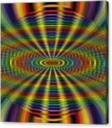 Atomic Rainbow Canvas Print