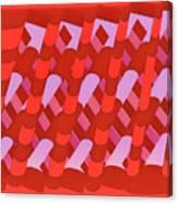 Atomic Structure No. 86 Canvas Print