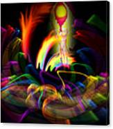 Atrium Outburst Angel Canvas Print
