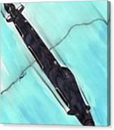 Attack Submarine Guardfish Canvas Print