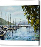 Attersee Austria Canvas Print