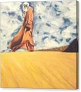 Attesa Waiting Canvas Print