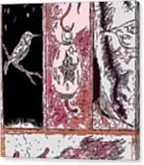 Attracting The Hummingbird Canvas Print