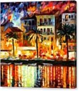 Attractive Corsica Canvas Print