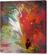 Au Pays Des Oiseaux Canvas Print