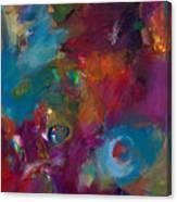 Aubergine Mist Canvas Print