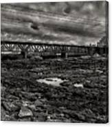 Auburn Lewiston Railway Bridge Canvas Print