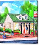 Auburn Sani-Freeze - The Flush Canvas Print