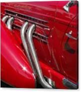 Auburn Speedster Canvas Print